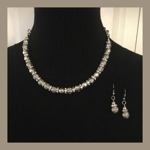 Jewelry - Antique Silver Necklace Set
